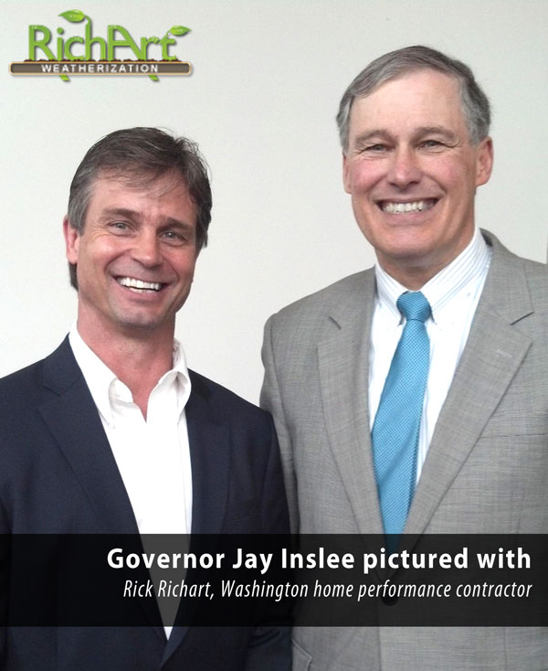 rick richart and governor inslee